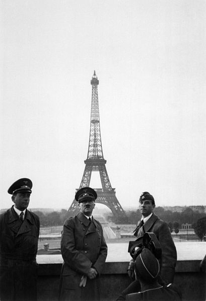 %22Der Führer in Paris%22. Hitler in Paris - Date 23 June 1940