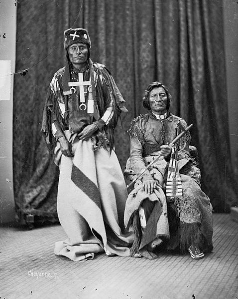 Little Coyote and Morning Star Date 1873